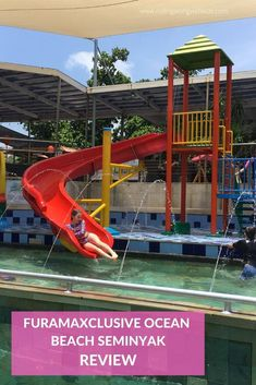 Our full review of FuramaXclusive Ocean Beach Seminyak including photos and videos of the apartments, pools, indoor playground, restaurants and more. Bali With Kids, Travel With Kids, Family Travel, Bali Family Holidays, Indoor Playground, Bali Travel, Ubud, Ocean Beach, Travel Inspiration