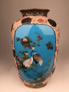 A rare and important circa 1880 Japanese cloisonne : Lot 178