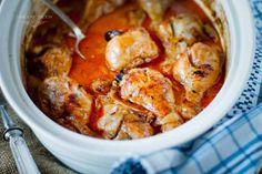 Pieczone udka kurczaka w sosie curry. | Ósmy kolor tęczy - Blog kulinarny