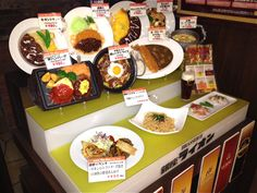 Who doesn't love the #Tokyo fake food?