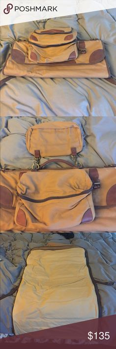 Duluth firehose one night stand bag. Used once. Brand new condition. Comes with one Garment roll up bad 2 accessory bags and 2 dirty laundry canvas bags Bags Luggage & Travel Bags