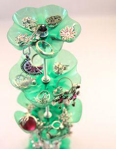 pop bottle jewelry holder