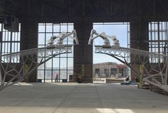 Dutch startup plans first printed steel bridge to span Amsterdam canal - Using robotic printers 'that can draw steel structures in we will print a (pedestrian) bridge - Vitra Design Museum, Impression 3d, Bridge Model, Bridge Structure, Steel Bridge, 3d Printing Business, Build A Better World, Amsterdam Canals, Amsterdam Bridge