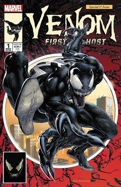 Venom First Host NYCC 2018 Scorpion Comics Exclusive Homage Virgin Variant Cover by Clayton Crain Spider Man Comics, Comics Spiderman, Venom Comics, Marvel Venom, Marvel Comics Art, Marvel Heroes, Drawing Cartoon Characters, Character Drawing, Comic Character