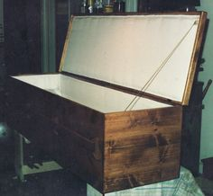 Pine Casket with Satin Lining