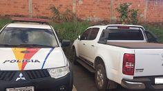 Policiais militares integrantes do 10º Batalhão faziam patrulhamento na Feira do Produtor em Ceilândia, na tarde de hoje (24), quando re...