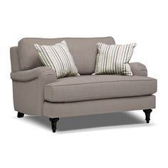 American Signature Furniture - Candice Upholstery Chair and a Half