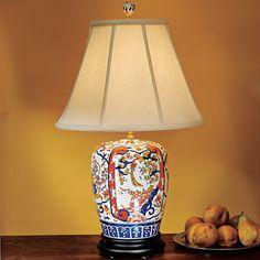 Imari Ginger Jar Lamp