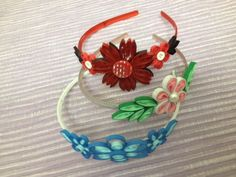 ...kraftaria..: More quilled hair bands