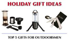 Our top 5 best gifts for outdoorsmen under $50 includes a great selection of gift ideas for those who love the wilderness and outdoors activities! #outdoorsmen #gifts #giftideas #survival #wilderness
