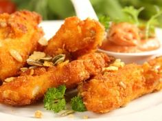 Křupavé kuřecí prsty - Recepty na každý den
