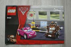 No missing pages or major tears. Lego Disney, Disney Pixar Cars, Lego Instruction Books, Lego Instructions, Lego Building, Arcade Games, Spy, Booklet, Bricks