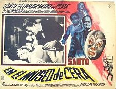 "Santo In The Wax Museum (English Language Version) (1963) $19.99; aka: Santo En EL Museo De Cera; EL Santo, the masked Mexican wrestler, is called in to investigate a series of kidnappings. He then discovers that the mysterious Doctor Caroll (Claudio Brook) is using the victims as part of his experiments to develop an army of monsters. Naturally, EL Santo is able to overcome them all--by wrestling! This is the English language version of ""Santo En EL Museo De Cera"", which is also available…"