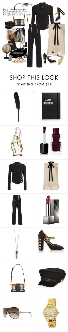 """""""Twelfth Night, or what you will, dear Viola! It's Shakespeare."""" by juliabachmann ❤ liked on Polyvore featuring Maison Margiela, Design Letters, Donna Karan, Burberry, Monsoon, Dolce&Gabbana, River Island, Givenchy and Kate Spade"""