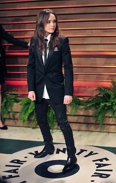 How does Ellen Page look better in a suit than 99.9% of the men on the internet?