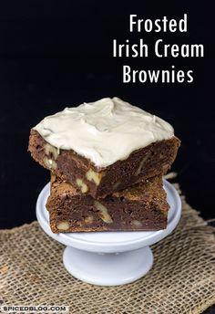 Irish Cream Cheesecake Fudge Brownie Recipe — Dishmaps