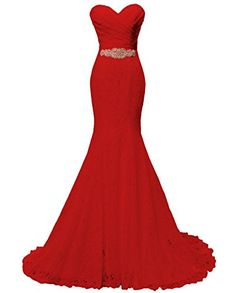 Solovedress Women's Lace Wedding Dress Mermaid Evening Dr... https://www.amazon.com/dp/B01H5KZD7M/ref=cm_sw_r_pi_dp_x_dIzFybK8CWP7P