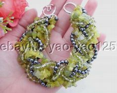 trands Lemon Jade Bracelet