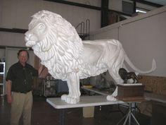 "How to Make Styrofoam Art | Lion Of Judah"" ™ | Christian Bronze Sculptures"