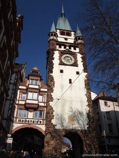 Martins Tor with its McDonalds - things to do in Freiburg, Germany