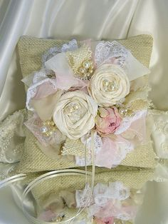 Lovely fabric roses