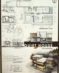 6,782 отметок «Нравится», 22 комментариев — Art & Architecture (@architects__vision) в Instagram: «Beautiful Final presentation of this quiet house  . . Tag Your Friends  . Follow…»