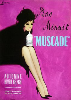 """By Couronne, 1965, Bas Minuit """"Muscade""""."""
