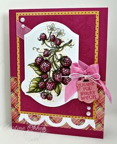 ChristineCreations: Fruit and Berries
