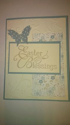 Easter blessing stampin up