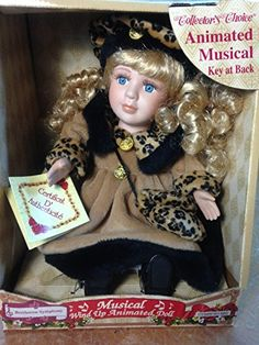 Porcelain Doll: Collectors Choice Fine Bisque Wind up Animated Porcelain Doll -- You can find out more details at the link of the image. Collector Dolls, The Collector, Up Animation, Porcelain Doll, Indian, Image, Link, History, House