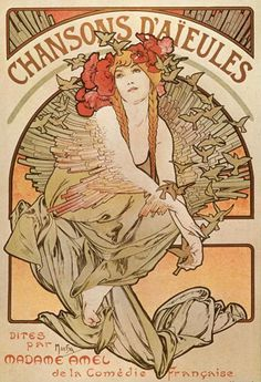 Another classic print by Alphose Mucha. Alphonse is known for his Art Nouveau paintings, advertisements, and illustrations. All of our prints are beautifully rendered on 13 by 19 professional heavywei