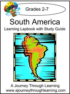 South America Lapbook with Study Guide