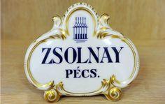 Zsolnay logo Vases, Pottery Vase, Porcelain Ceramics, Hungary, Budapest, Folk Art, Perfume Bottles, Traditional, History