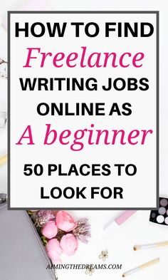 How to find entry-level freelance writing jobs as a beginner. Are you looking for ways to start writing as your career? But you are not sure where to start? Check out these companies that will help you kick-start your freelance writing career. Online Writing Jobs, Freelance Writing Jobs, Online Jobs, Work From Home Jobs, Make Money From Home, How To Make Money, Start Writing, Writing Tips, Virtual Assistant Jobs