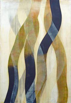 Doug Glovaski, Regeneration #74, 2011, acrylic on paper, 44x30