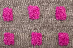 Monte Vibrant #6 Rug // Pampa