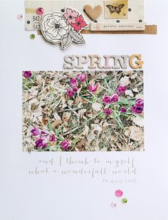 Spring by Sockergrynet at @studio_calico