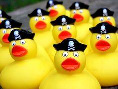 Pirate Rubber Ducky
