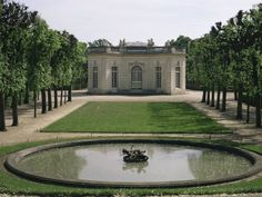 La Petit Trianon. Marie Antoinette's private invite only home used to escape the pressure of life at Versailles