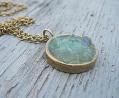 Rock candy crushed  faux druzy necklace 18 by maxandlucie on Etsy, $45.00