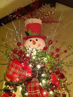 snowman christmas tree | Snowman-christmas-tree-toppers_4.jpg