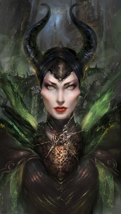 Maleficent by Nhi To Phung | Fan Art | 2D | CGSociety