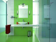 Stereotyp nudnej łazienki został już dawno przełamany. Czas na kolor! Dla efektywniejszego wystroju naszej łazienki polecamy KINKIETY AQUATIC, które podkreślą światłem barwę płytek.