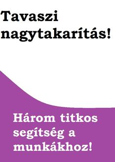Tavaszi nagytakarítás a lakásban. - 1000 otthon.hu Tarot, Tarot Cards