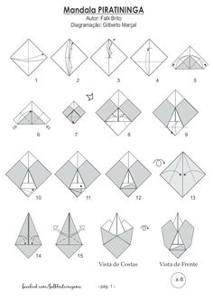 Falk Brito Origami: Mandala Piratininga...