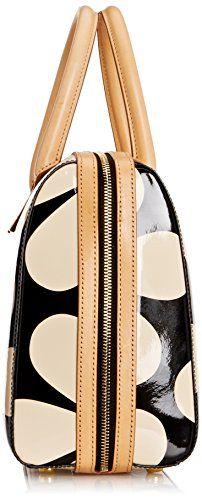 90b143e2312d Orla Kiely Snow Drop Printed Patent Leather Peggy Bag