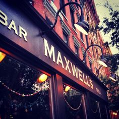 Maxwell's Closes with a Block Party Hoboken New Jersey Maxwell's Jersey City, New Jersey, Hoboken Bars, Outdoor Cafe, Washington Street, Local Events, Block Party, Vintage Advertisements, The Rock