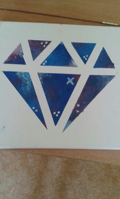 Galaxy diamond for mom ...... :)