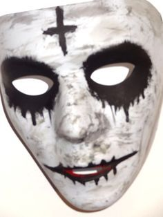 the purge anarchy cross mask - Google Search