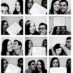 Engagement Invites - this would be really cute with a chalkboard
